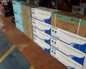 Aires acondicionados de 12.000 y 18.000 btu