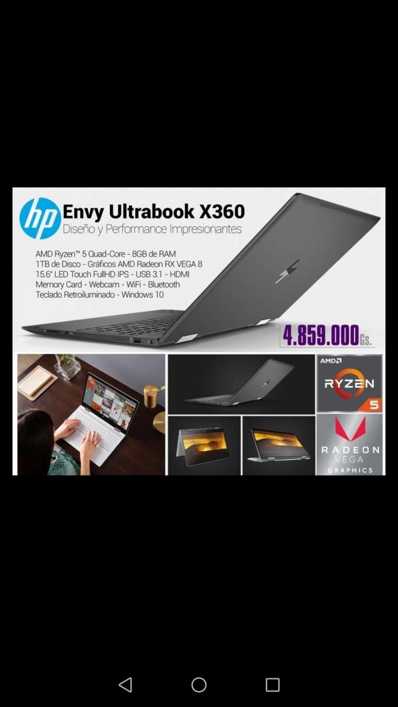 Notebook HP Gamer pantalla ips FHD 15 x360