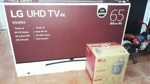TV Smart LG 4k de 65 pulgadas - 0