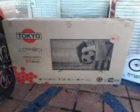 TV Smart 4k Tokyo full UHD de 55 pulgadas