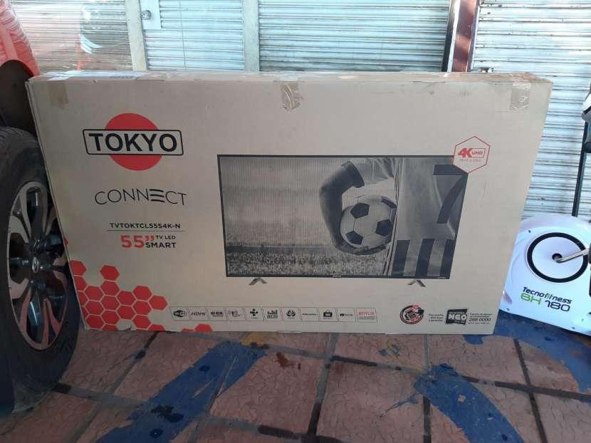 TV Smart 4k Tokyo full UHD de 55 pulgadas - 0