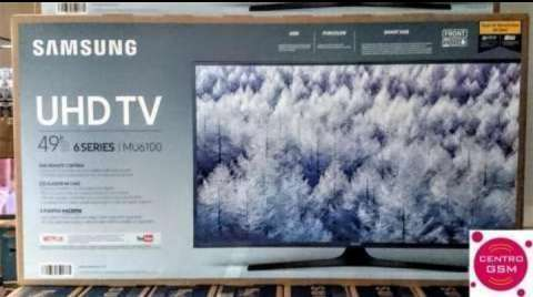 Tv Smart 4k Samsung 49 pulgadas - 0