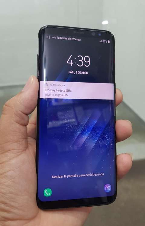 Samsung Galaxy S8 impecable de 64 gb - 1