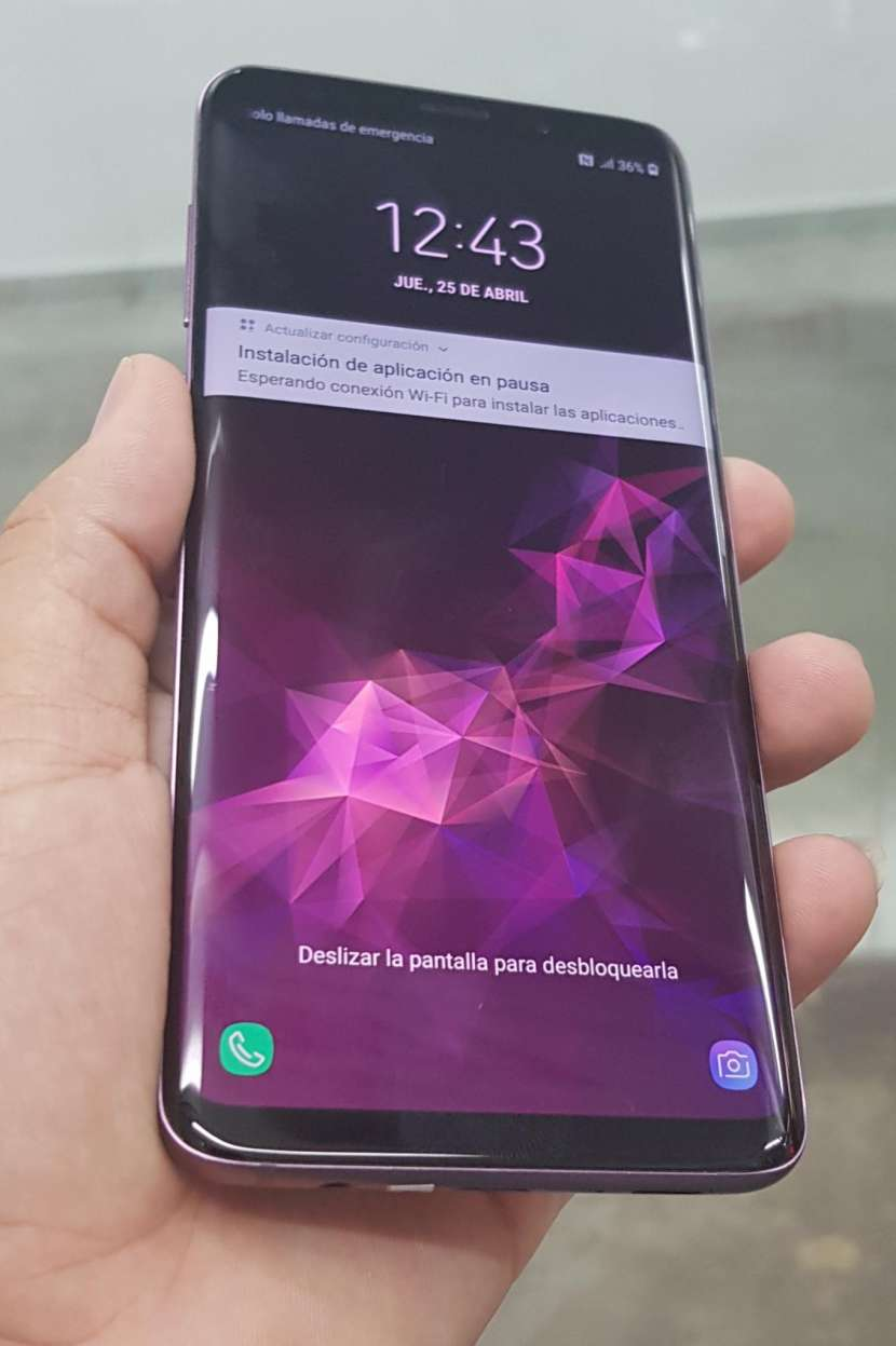 Samsung Galaxy S9 Plus purpura de 64 gb - 0