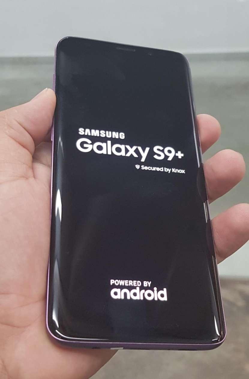Samsung Galaxy S9 Plus purpura de 64 gb - 1
