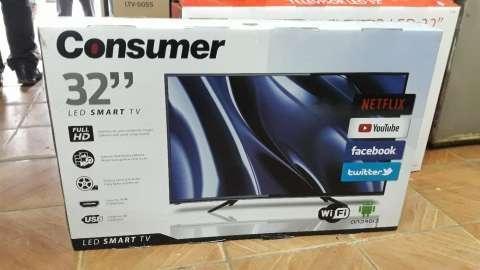 TV LED Smart Consumer Full HD de 32 pulgadas - 0