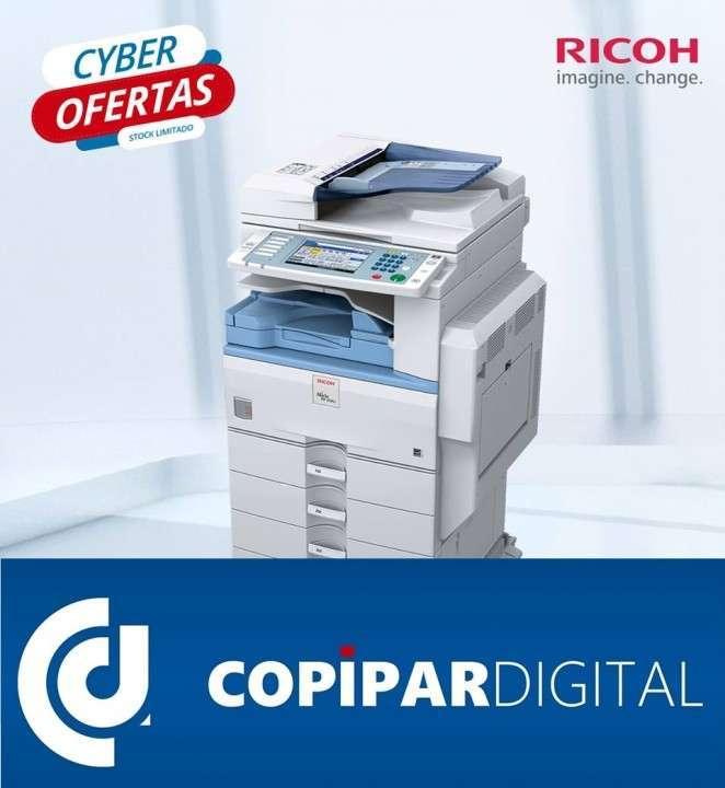 Fotocopiadoras seminuevas Toshiba Ricoh Lanier Savin - 1