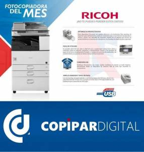 Fotocopiadoras Ricoh
