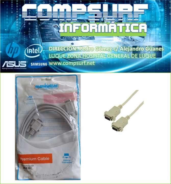 Cable VGA de 3 metros