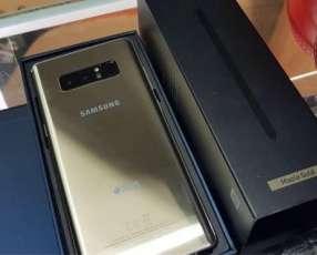 Samsung Galaxy Note 8 dorado nuevo