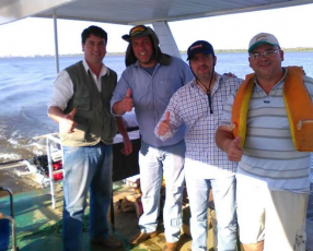 Catamaran pesquero