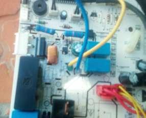 Reparación de placa de Aire