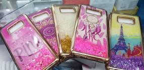 Protectores con purpurina para Samsung Note 8