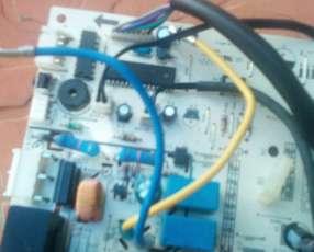 Reparación placa aire