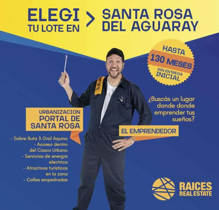 Terreno en Santa Rosa del Aguaray - 0