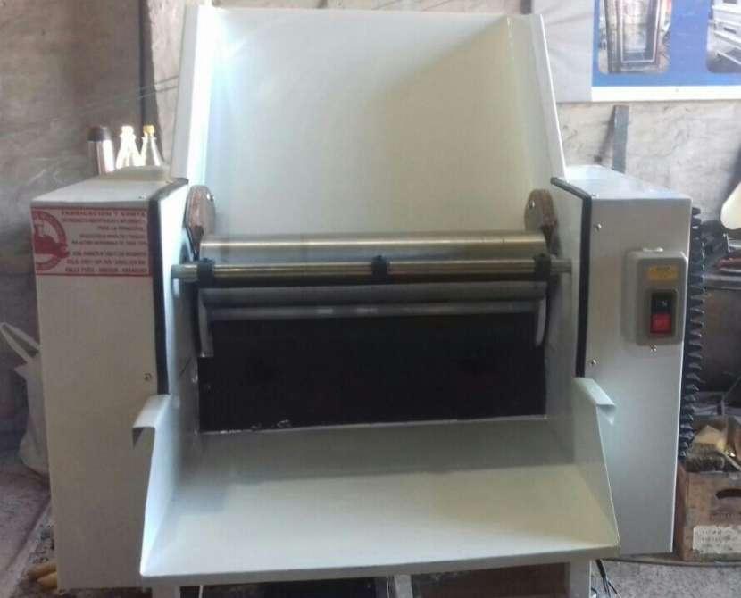 Refinadora de mesa de 40 cm de cilindro