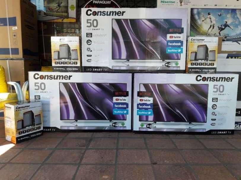 TV LED Smart Consumer de 50 pulgadas