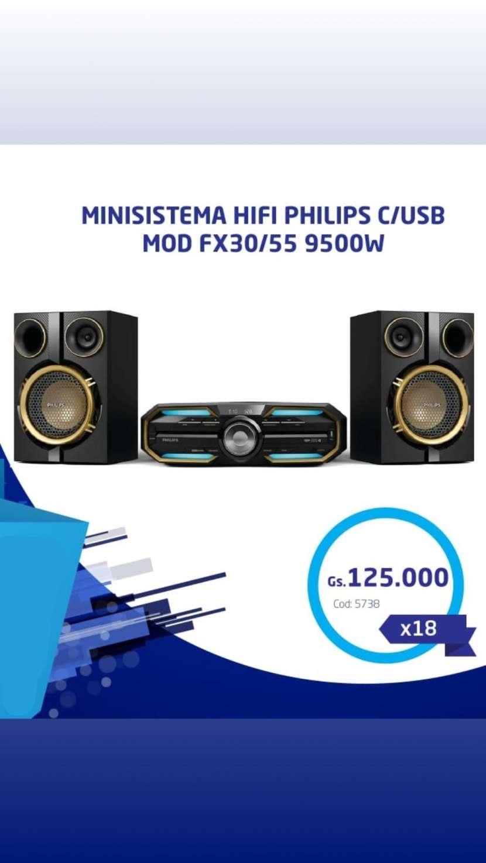Minicomponente Philips FX50