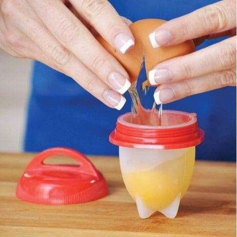 Molde siliconado para hacer huevo duro - 1