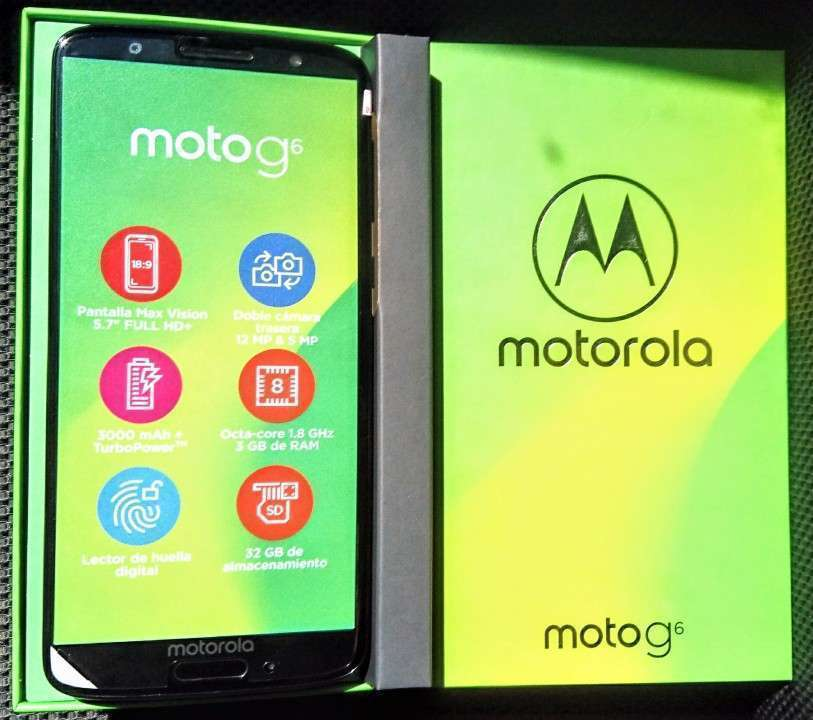 Motorola Moto G6 de 32 gb nuevos en caja