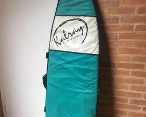 Tabla y plancha de surf