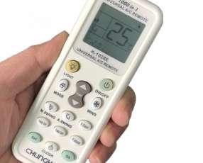 Control remoto universal para aire acondicionado