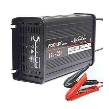 Cargador de batería 12V 20A 7 etapas - 0