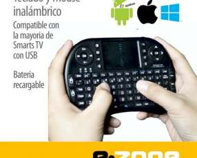 Mini Teclado más Mouse inalambrico PC /Android/Smart TV
