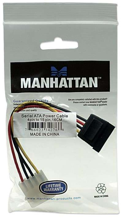 MANH CABLE SATA POWER 342766 01 HDD.