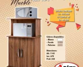 Mueble para horno y microondas Alpha