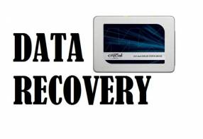 Data recovery HDD SSD 1.0 TB crucial