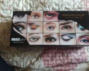 Juego de maquillaje sombras para los ojos