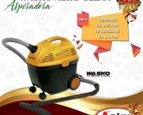 Aspiradora Wasko Aero Clean 15 litros 1200W para polvo y líquido