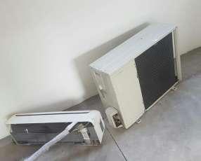 Instalación aire split