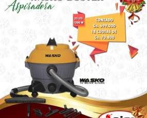 Aspiradora Wasko Duster 1200W 25 litros polvo y líquido