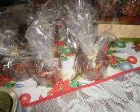 Pan dulce artesanal y casero con chispas de chocolate