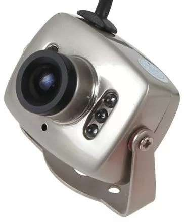 CCTV CAM INT INFRA MINI CMOS 208 C/Transormador