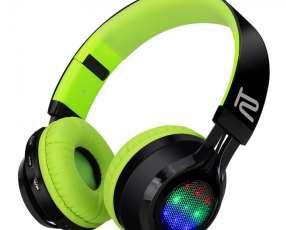 Fone+mic klip khs-659 headph bt/negro/led