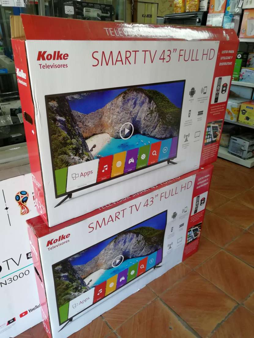 Tv led smart Kolke 43 pulgadas - 0