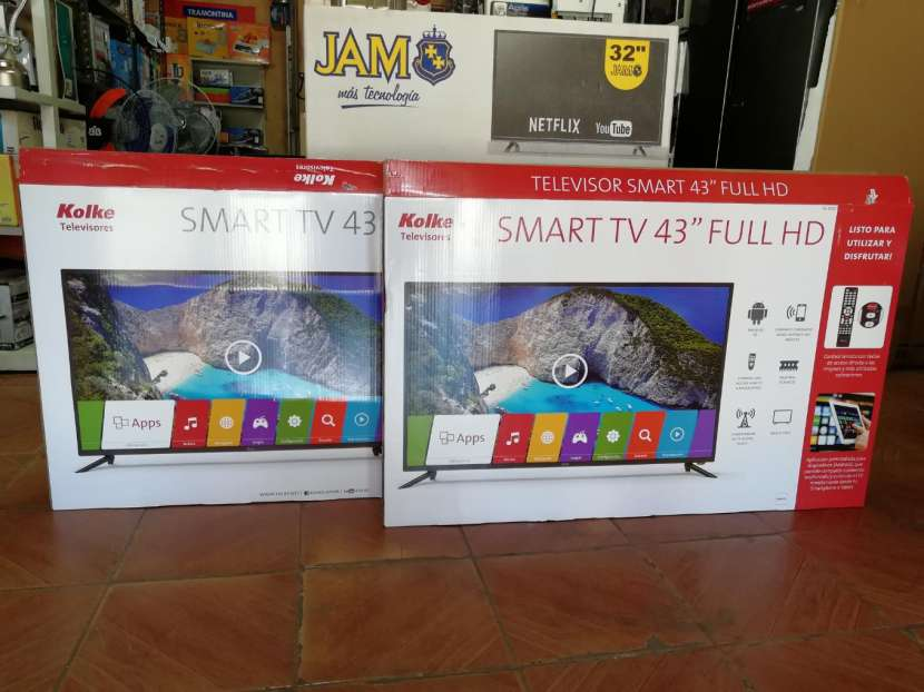 Tv led smart Kolke 43 pulgadas - 2