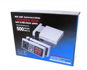 Mini consola clásica de Nintendo con 500 juegos en memoria