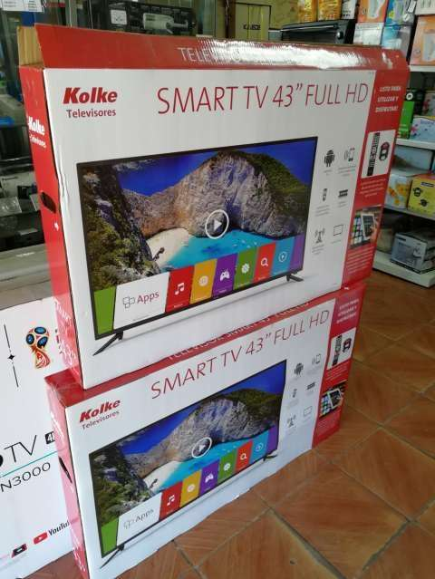Tv led smart Kolke 43 pulgadas