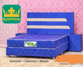 Sommier completo 140x190