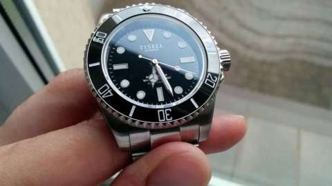 Reloj Tisell marine diver - 1