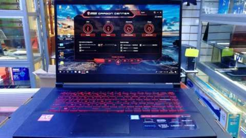 Notebook MSI GF63 gaming