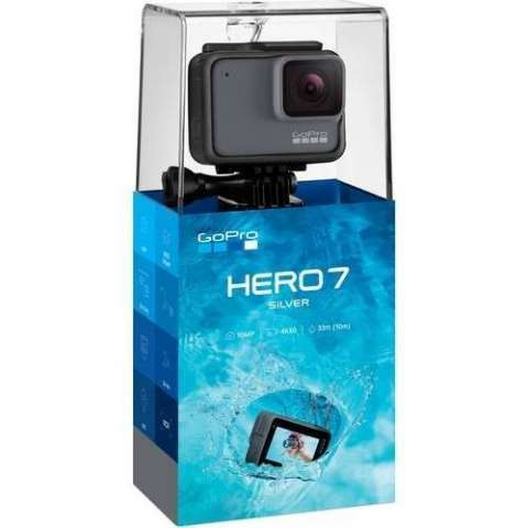 Cámara GoPro Hero 7 Silver CHDHC-601 4k 2 pulgadas - 2