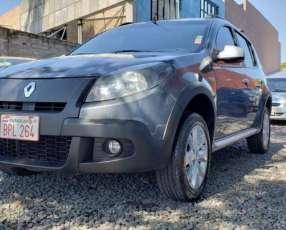 Renault Sandero stepway 2013 gris mecánico