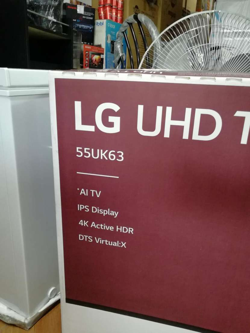 TV LED Smart ultra HD 4K 55 pulgadas LG - 1