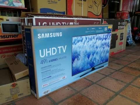 Tv LED Smart Samsung 49 pulgadas ultra HD 4k - 0