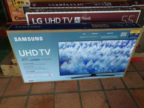 Tv LED Smart Samsung 49 pulgadas ultra HD 4k - 1